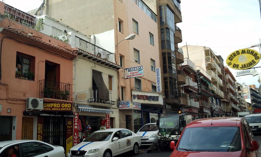 Pension tabarca accommodaties in benidorm for Jardin rosa alcoy