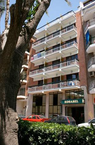 Hotel rosabel accommodaties in benidorm for Jardin rosa alcoy