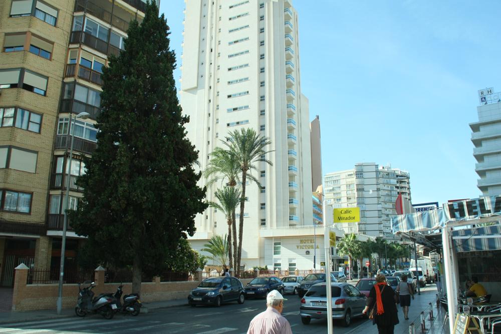Best western hotel victoria accommodaties in benidorm for Jardin rosa alcoy