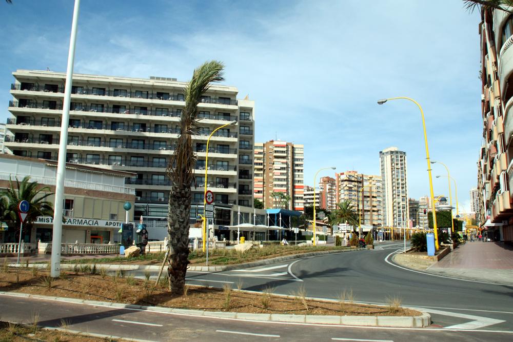 Hotel corona del mar accommodaties in benidorm for Jardin rosa alcoy