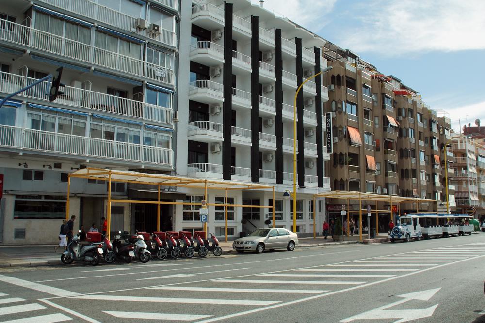 Centrum accommodaties in benidorm for Jardin rosa alcoy