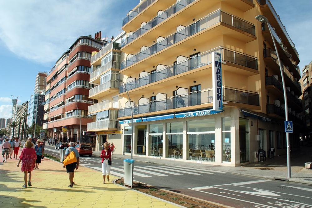 Hotel marconi accommodaties in benidorm for Jardin rosa alcoy